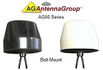 AG Antenna Cp50Bb2Cg-25 Ag50 Bolt Mount Ant 25Ft 2Xcell-Gps-Blk