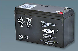 Altronix Bt126 Lead Acid Battery 7Ah Dimension