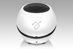 Aluratek Aps02F Bump Bluetooth Speaker W- Battery