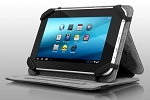 Aluratek Autc07Fb Tablet Case Stand All 7in Tablets