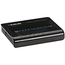 Black Box Lb008A Pure Networking Ii 10 100 Ethernet Switch-Replaced by LBS008A Fast Ethernet (100-Mbps) Switch - (8) 10/100-Mbps Copper RJ45, USB Powered, GSA, TAA,