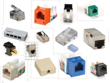 Black Box FM122-R2 RJ-45 Snap-On Modular Plug 8-Wire 5 Packs of 10 pcs 10 pcs