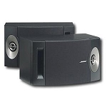Bose 201 Series V Direct Reflecting Speaker Sys Blk 29297
