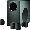 JBL C50-Pack-Wh Subwoofer & 4-Satellite Speaker