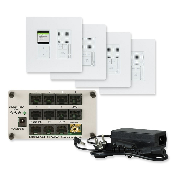 On-Q Ic7400-Wh Selective Call Intercom Radiant