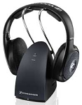 Sennheiser Rs135 Wireless Rf On Ear Headphone Stand