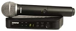 Shure Blx24Pg58H9 Wireless Handheld Microphone System