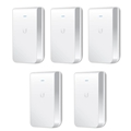 Ubiquiti Uap-Ac-Iw-5 5Ghz In Wall Wifi Access Point 5Pk