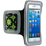 Allsop 30776 Iphone 5-5S Sports Armband Radiance Dark Grey