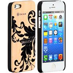 Allsop 30781 iPhone 5 Wood Case-Filigree