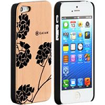 Allsop 30782 iPhone 5 Wood Case-Hydrangea