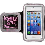 Allsop 31297 Iphone 5-5S Sports Armband Paisley-Pink