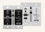 AMX Avb-Dwp-Tx-Multi-Dxlink Multi-Format Wallplate Transmitters Us Fg1010-325-Wh Replaced By Dx-Tx-Dwp