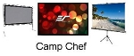 Camp Chef OS120L Fixed Projection Screens T 120 In Lite