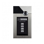 Comelit 3454 Entrance Panel W- A-V Intercom + Touch Screen + Stainless Steel Vip 316 Touch
