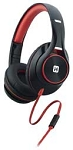 iHome Over Ear Headphone Black Red Ib42Brc