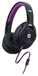 iHome Over Ear Headphone Black Purple Ib42Buc