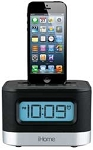 iHome Lightning Dock Clock Radio Ipl8Bn