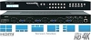 Key Digital 4 Inputs To 2 Outputs Multiview Seamless Matrix Switcher