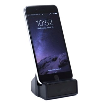 HD WIFI Docking station Camera options of Iphone or Android MiniGadgets WIFI Cam HCWIFIDOCK