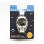 MiniGadgets Silver Watch Spy Camera