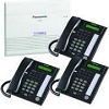 Panasonic KX-Ta824-T3W Bundle Sys Phones