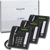 Panasonic KX-Ta824-Tl3 Bundle Kxta824 3 Kxt7736 Phones 1 Kxta824Tl3