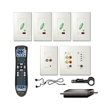 Russound Ad320W 2 Room Single Source Inwall Kit