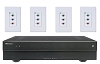 Russound Vm1-4 4X4-Switcing-From Analog-Component On Video