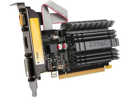 Zotac Zt-71115-20L Geforce Gt 730 Zone Edition Lp